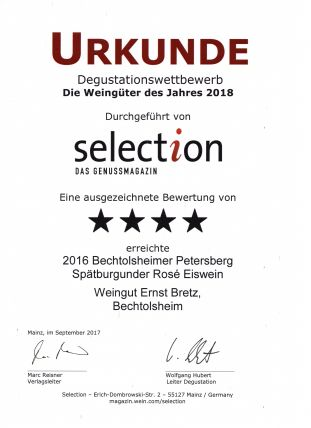 Selection 4/2017 Spätb. Rose EW