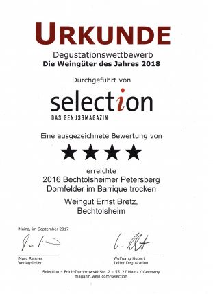 Selection 4/2017 Dornf. Barr.
